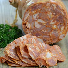 Capocollo di Dorman - Pork Collar Salame