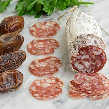Chet's Spicy Fennel and Garlic Salami by Red Table