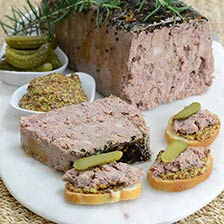 Country Pate with Black Pepper