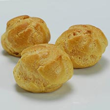 Cream Puff Mini Shells - 1.75 inch, Special Order