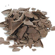 Dark Chocolate Shavings - Large Flat, Special Order
