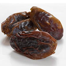 Dried Dates, with Pits (Medjool)
