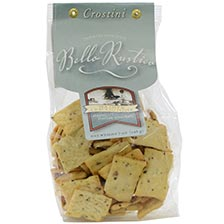 Italian Crostini Crackers with Sea Salt & Cracked Pepper