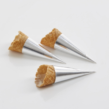 Mini Savory Coated Cones - 2.87 Inch x 1.1 Inch