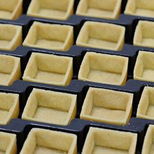 Mini Square Sweet Tartelettes - Butter 1.88""