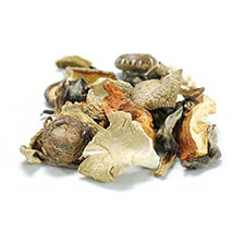 Mixed Wild Pacific Mushrooms - Dried