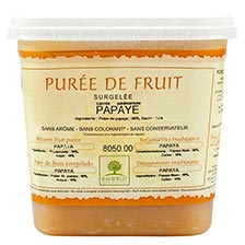 Papaya Fruit Puree