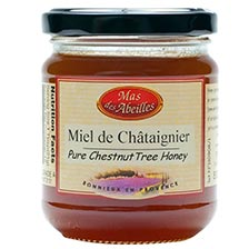 Pure Chestnut Tree Honey - Raw Honey