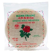 Spring Roll Wrapper - 8.25 inches
