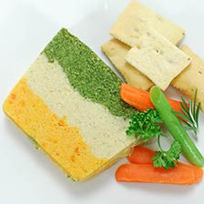 Three-Layer Vegetable Pate - Party Size, Special Order