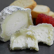 Wabash Cannonball Ashed Goat Cheese