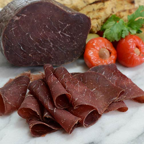 Beef Bresaola Dried Cured