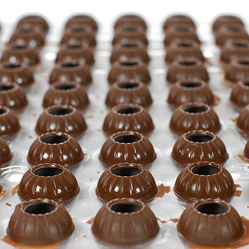 Dark Chocolate Truffle Shells, Special Order