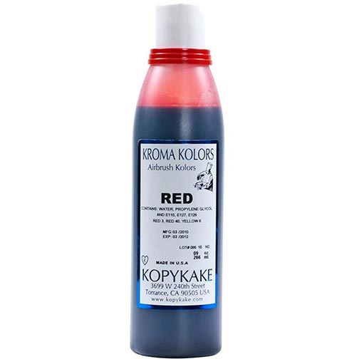 Food Coloring, Red