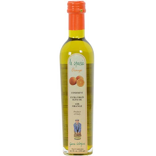 Le Spezie Extra Virgin Olive Oil with Orange, Special Order