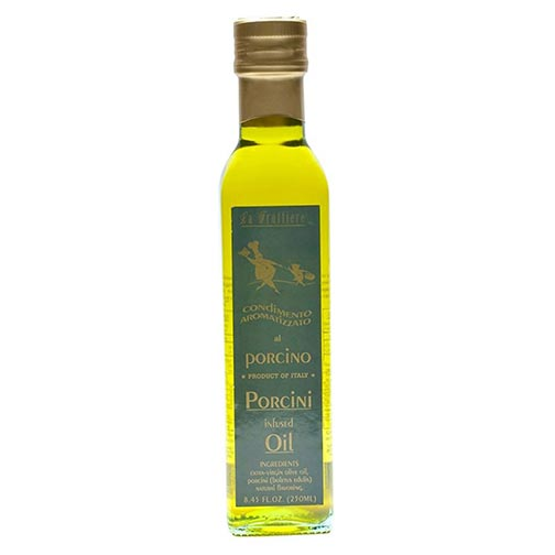 Porcini Infused Extra Virgin Olive Oil, Special Order