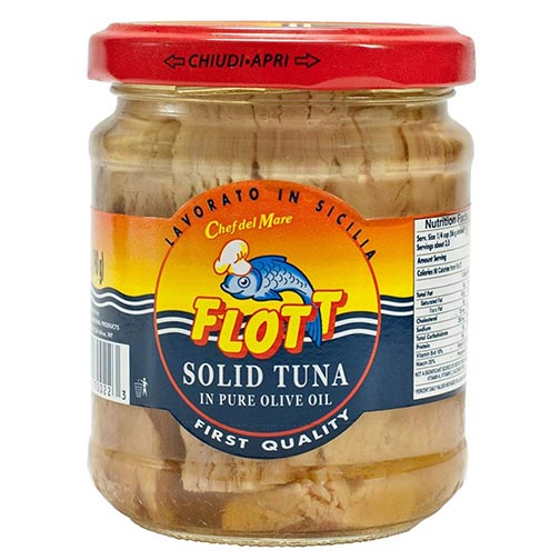 Solid White Tuna in Olive Oil